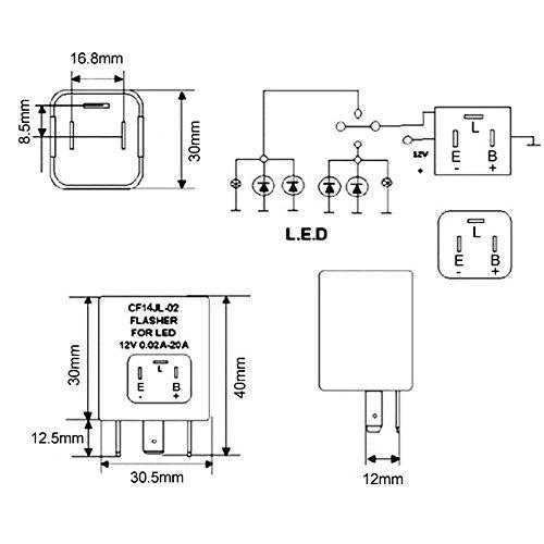 Blinker Relay 3 Pin Flasher Relay Wiring Diagram Manual from static-cdn.imageservice.cloud