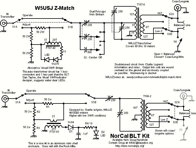 Strange Zmatch Antenna Tuners Wiring Cloud Hemtegremohammedshrineorg