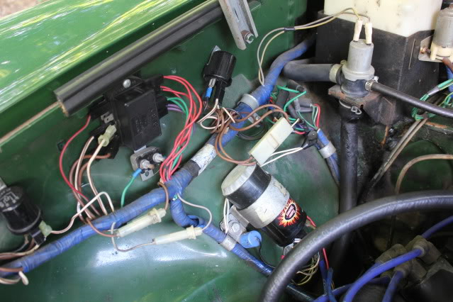 Ba 5395  1974 Hazard Switch Pins What Wire Goes Where Mgb