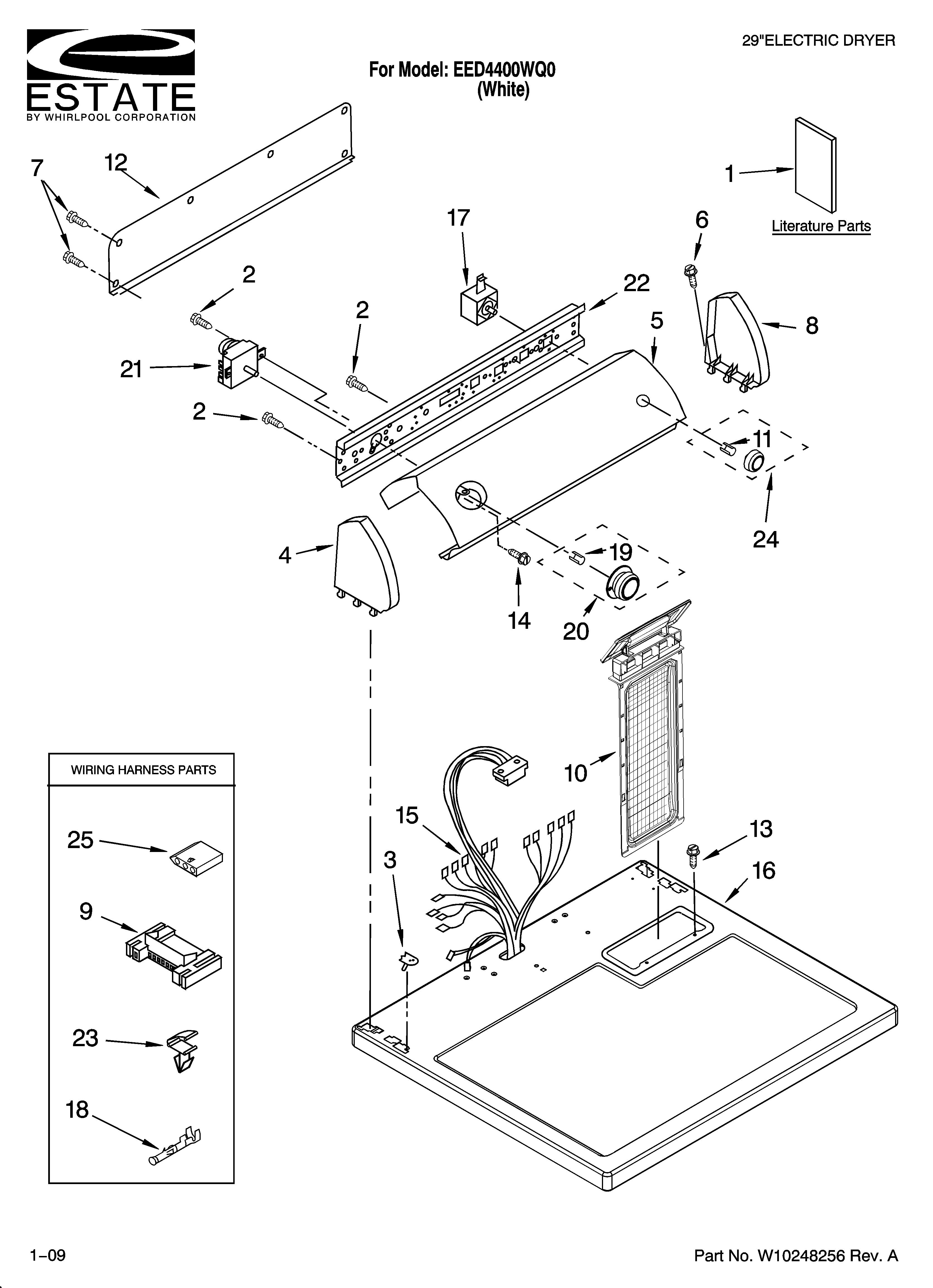 whirlpool dryer schematic wiring diagram ze 3288  whirlpool duet dryer wiring diagram on estate dryer parts  whirlpool duet dryer wiring diagram on