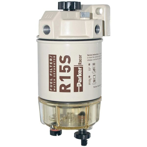 iFJF R12T Fuel Filter//Water Separator 120AT NPT ZG1//4-19 Automotive Parts with Fitting Includes 2 fittings,2 plugs Complete Combo Filter Diesel Engine
