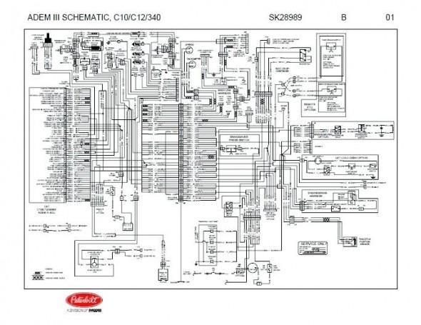 Be 7191 2010 Peterbilt 386 Wiring Schematic Wiring Diagram