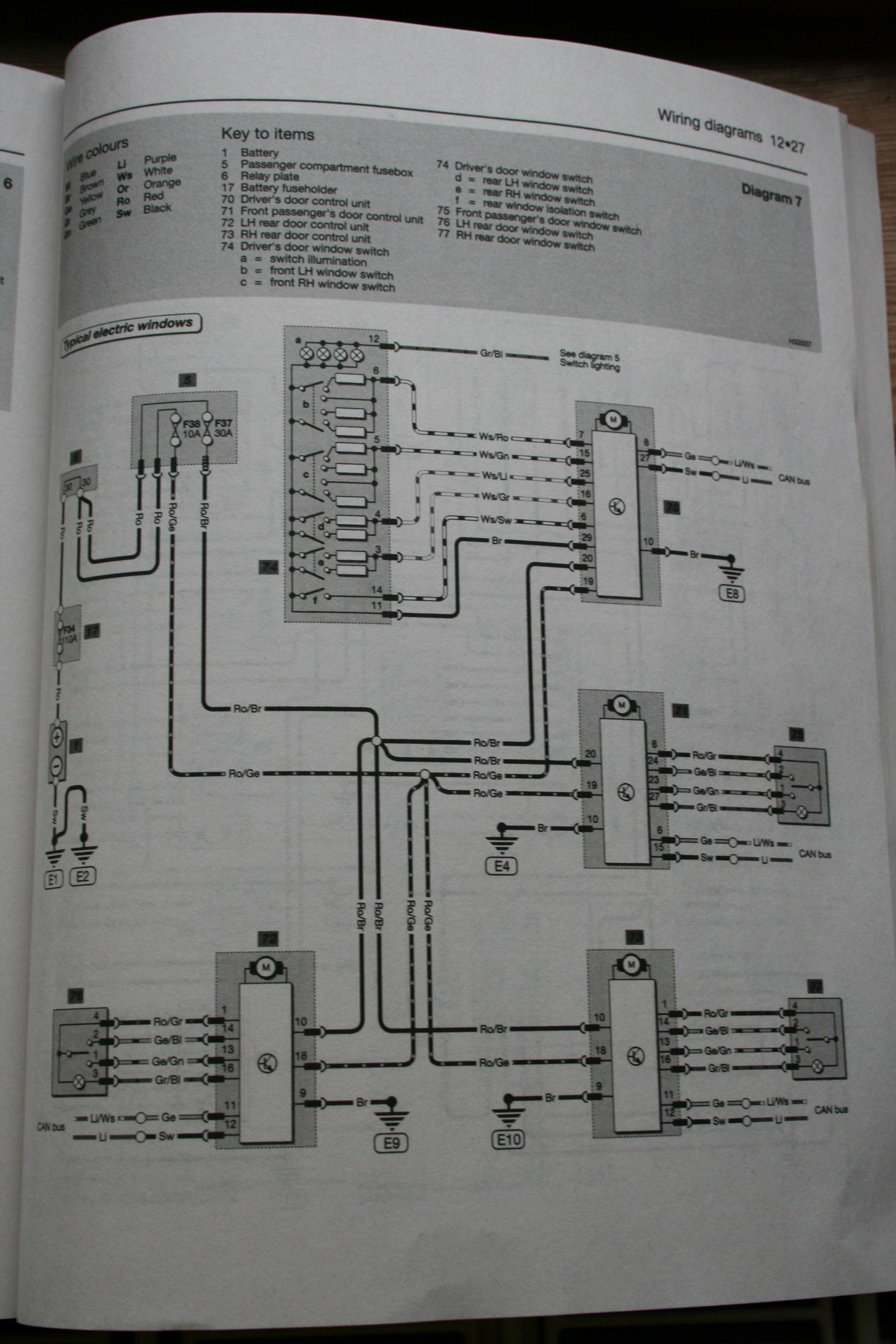 Octavia Central Locking Wiring Diagram