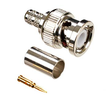 Peachy 20Pack Bnc Male Plug Crimp On Connectors Rg59 Coaxial Amazon Co Uk Wiring Cloud Faunaidewilluminateatxorg