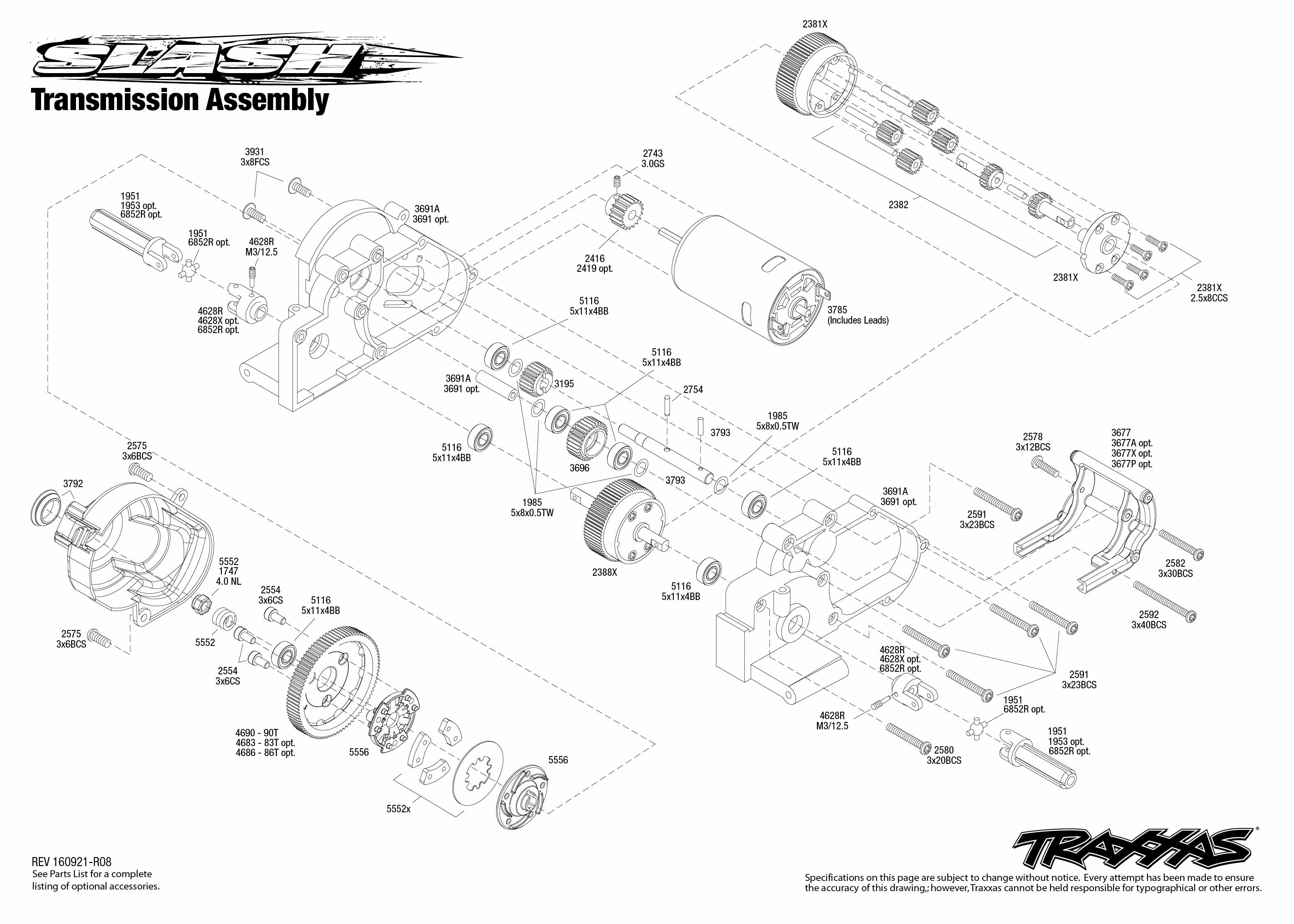 Brilliant Transmission Parts Diagram As Well Traxxas T Maxx 2 5 Parts Diagram Wiring Cloud Licukaidewilluminateatxorg