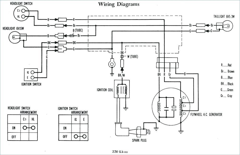 Wiring Diagram Honda Cl70    Honda Cl70 Service Manual