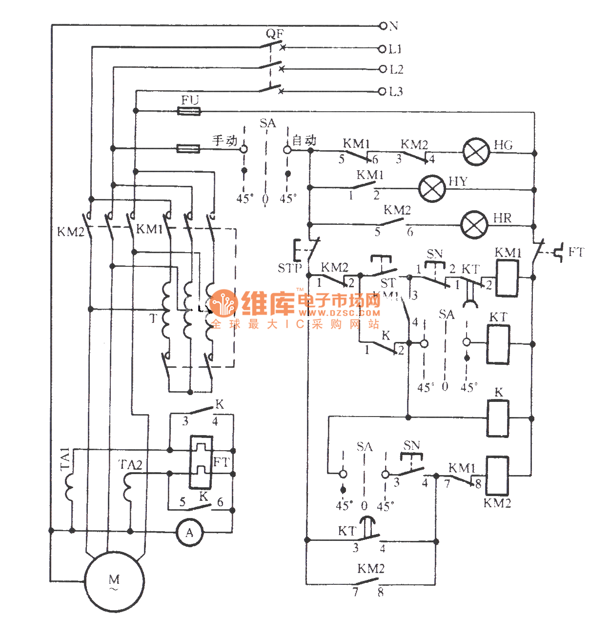 Astonishing Vertical Mill Electrical Control Circuit Relaycontrol Control Wiring Cloud Overrenstrafr09Org