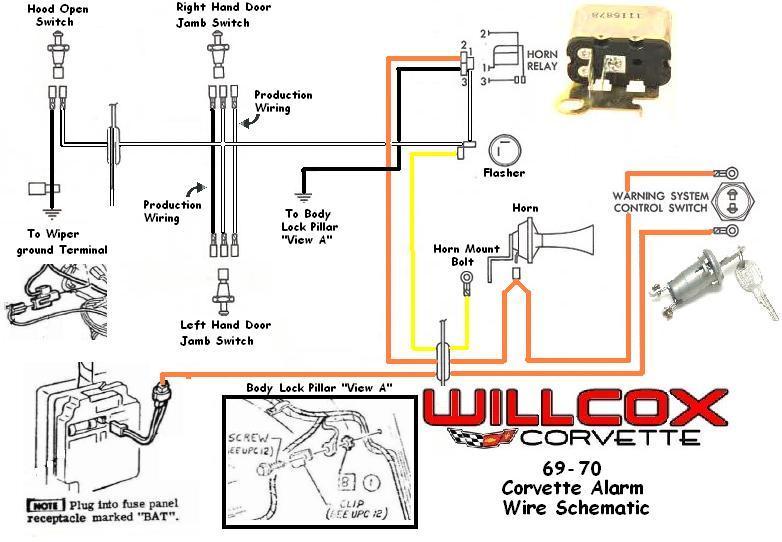 [VB_8737] 1976 Corvette Wiring Diagram Schematic Wiring