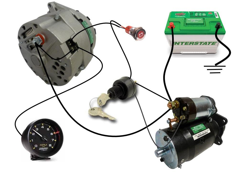 Outstanding Common Delco Si Series Alternator Wiring Diagram Smith Co Electric Wiring Cloud Rometaidewilluminateatxorg
