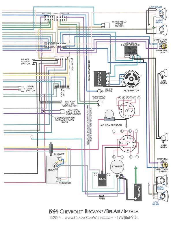 1976 chevy plug wiring diagram schematic wt 7017  1964 chevrolet chevy ii nova electrical wiring diagrams  1964 chevrolet chevy ii nova electrical