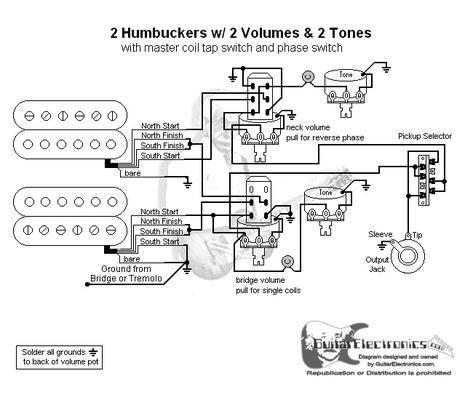 Va 5642 2 Humbuckers Coil Split Wiring Diagram For Free Diagram