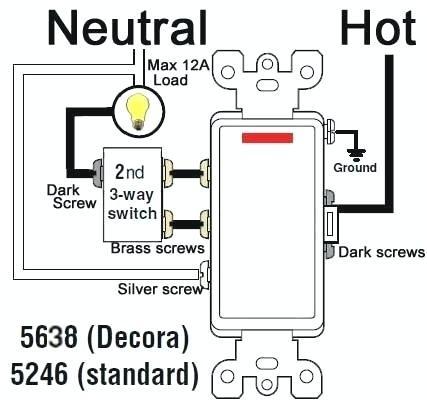 Leviton 3 Way Switches Wiring Diagram