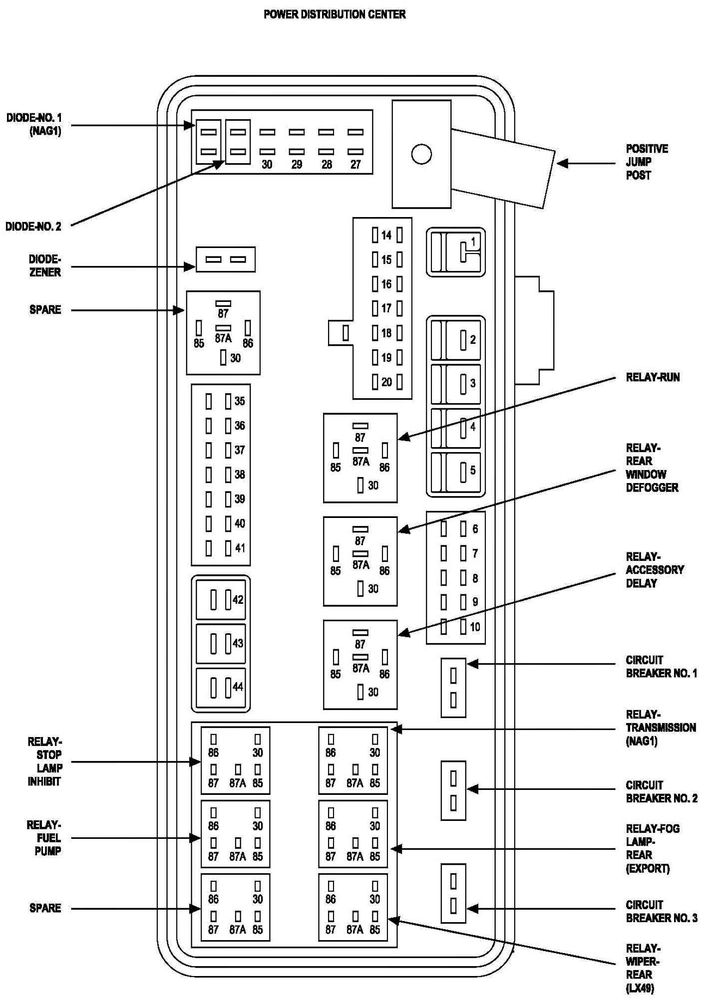 2005 Dodge Magnum Fuse Box - North Star 157309 Wiring Diagram for Wiring  Diagram SchematicsWiring Diagram Schematics