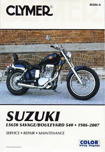 Pleasing Clymer Repair Manual Suzuki Ls650 Savage Boulevard S40 Ebay Wiring Cloud Itislusmarecoveryedborg