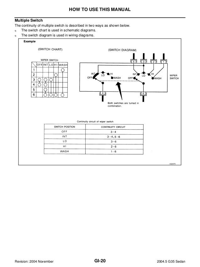 Se 3070 2004 Infiniti I 35 Wiring Diagram Schematic Wiring