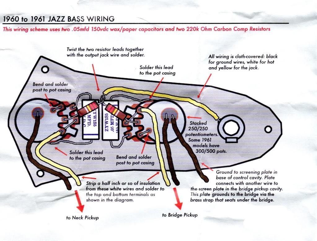 Fender Wiring Diagrams Bass