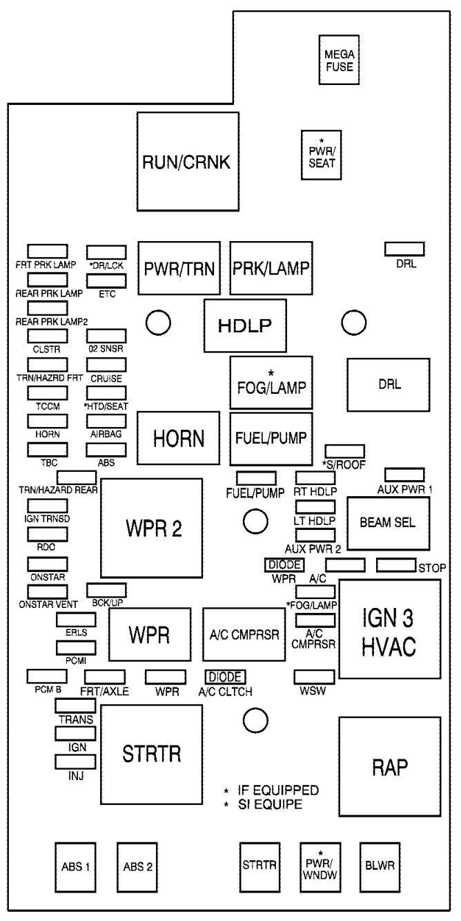 04 Chevy Colorado Fuse Diagram Nissan Wingroad Fuse Box Diagram Bege Wiring Diagram