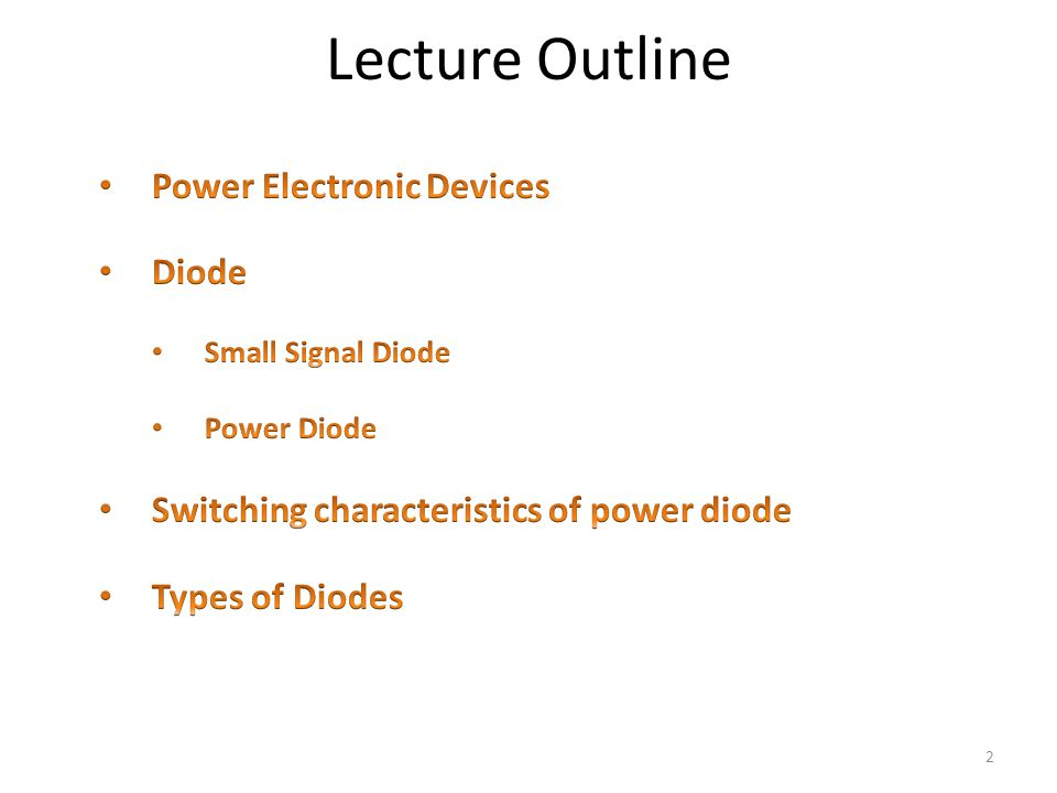 Miraculous Power Electronics Lecture 3 Power Electronic Devices Power Diodes Wiring Cloud Ittabpendurdonanfuldomelitekicepsianuembamohammedshrineorg