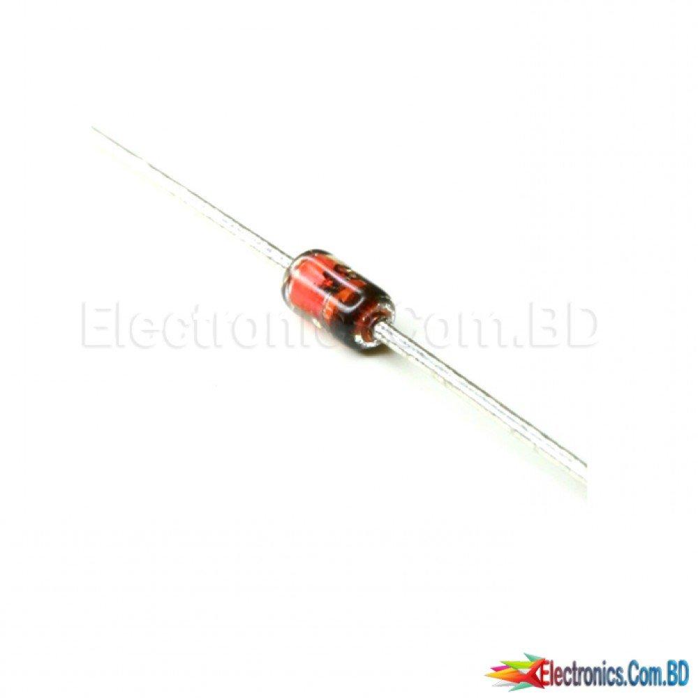 50Pcs High Conductance Fast Diode 1N914 DO-35 qz