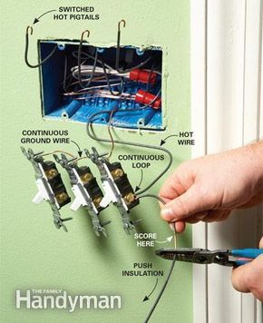 Fantastic 12 Tips For Easier Home Electrical Wiring Home Ideas Pinterest Wiring Cloud Genionhyedimohammedshrineorg