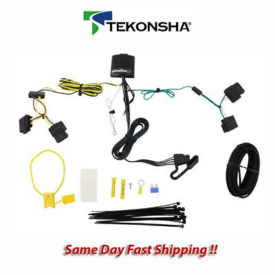 Remarkable Tekonsha 118551 Trailer Tow Hitch Wiring Harness Kit T One Connector Wiring Cloud Mousmenurrecoveryedborg