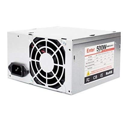 Awe Inspiring Amazon In Buy Enter E 500B 500 Watt Computer Power Supply Black Wiring Cloud Intelaidewilluminateatxorg