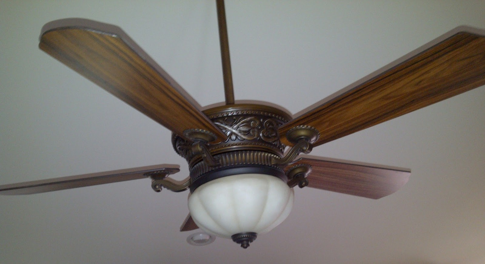 Enjoyable Ceiling Fan Upgrade Install A Ceiling Fan With Uplight And Remote Wiring Cloud Eachirenstrafr09Org