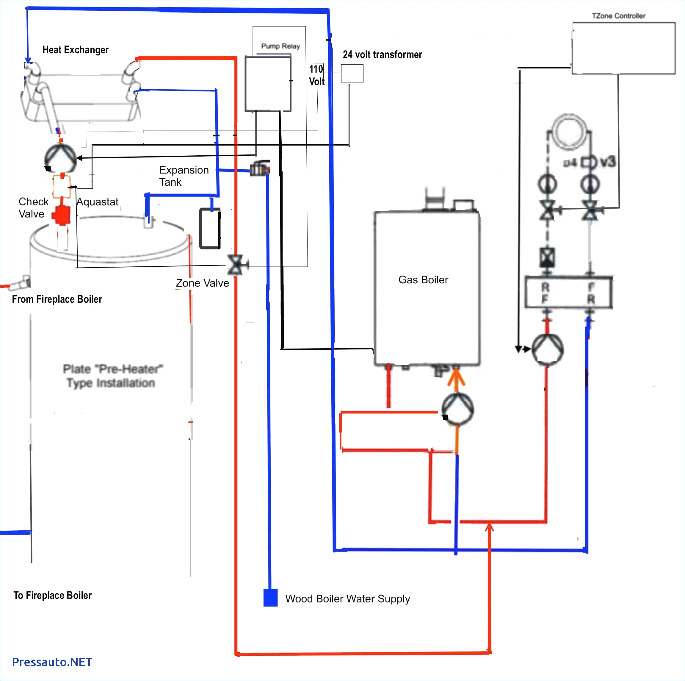Boiler Aquastat Wiring Diagram