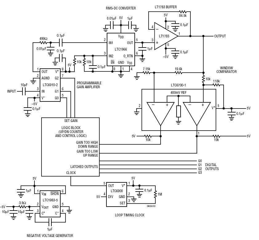 see wiring diagram of true rms circuit mt 8444  true rms converter  mt 8444  true rms converter