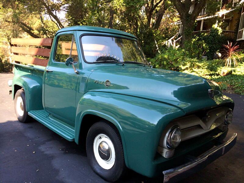Wondrous 1955 F100 Restored California Truck Legendary Garage Finds Wiring Cloud Timewinrebemohammedshrineorg