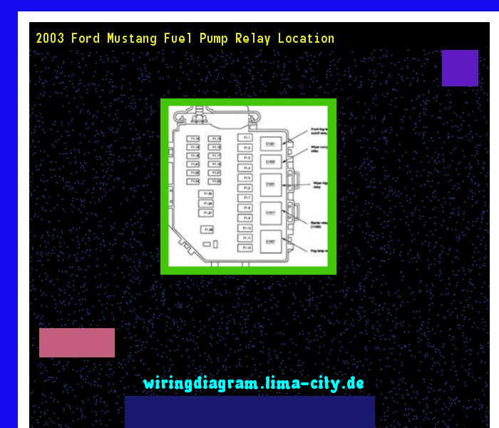 Admirable 2003 Ford Mustang Fuel Pump Relay Location Wiring Diagram 174513 Wiring Cloud Rdonaheevemohammedshrineorg