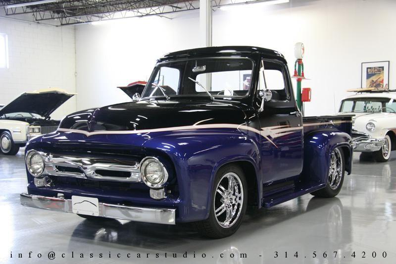 Awe Inspiring 1955 Ford F100 Pickup Truck For Sale St Louis Missouri Ben Jammin Wiring Cloud Hisonepsysticxongrecoveryedborg