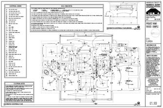YL_1029] Electrical Plan Layout Wiring Diagram