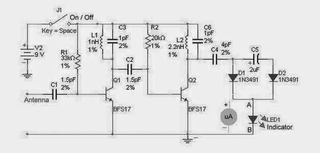 Astounding Rf Detector Circuit For High Frequency Supreem Circuits Diagram Wiring Cloud Monangrecoveryedborg