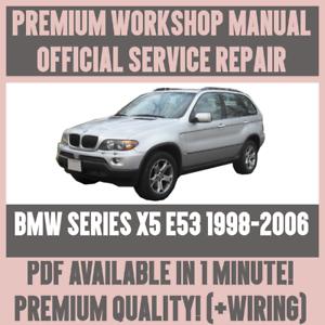 Phenomenal Workshop Manual Service Repair Guide For Bmw X5 E53 1998 2006 Wiring Cloud Gufailluminateatxorg