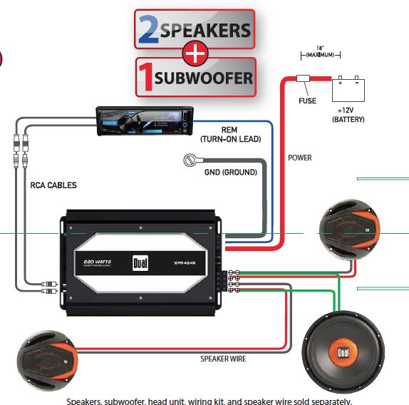 OX_2739] Dual Xpr4640 Car Amp Wiring Diagram Schematic WiringWww Mohammedshrine Librar Wiring 101