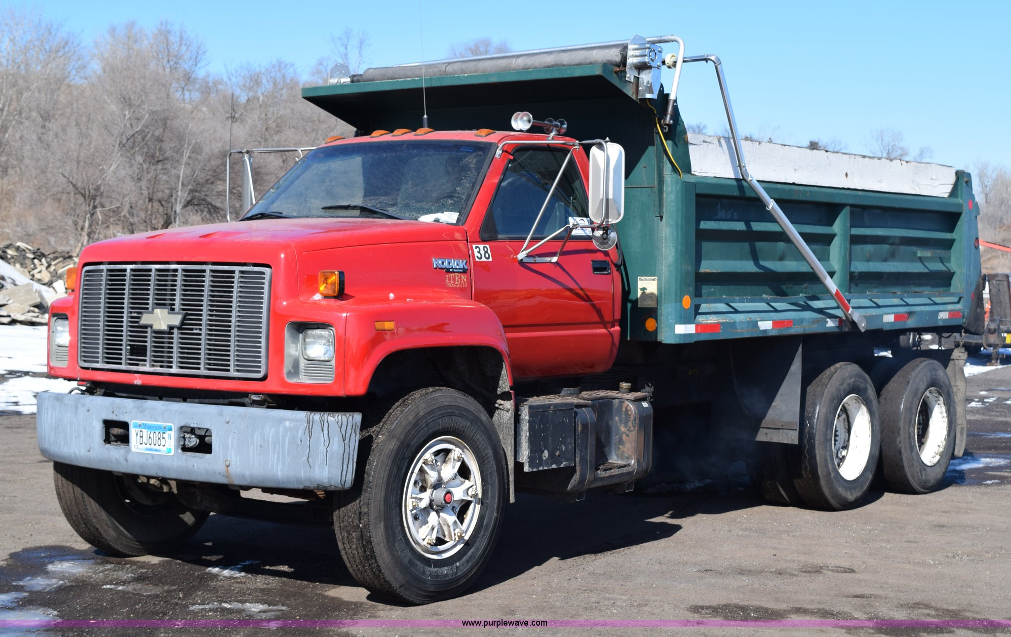 WT_8467] 1995 Chevy Kodiak Dump Truck Download DiagramCrove Cosm Wigeg Mohammedshrine Librar Wiring 101
