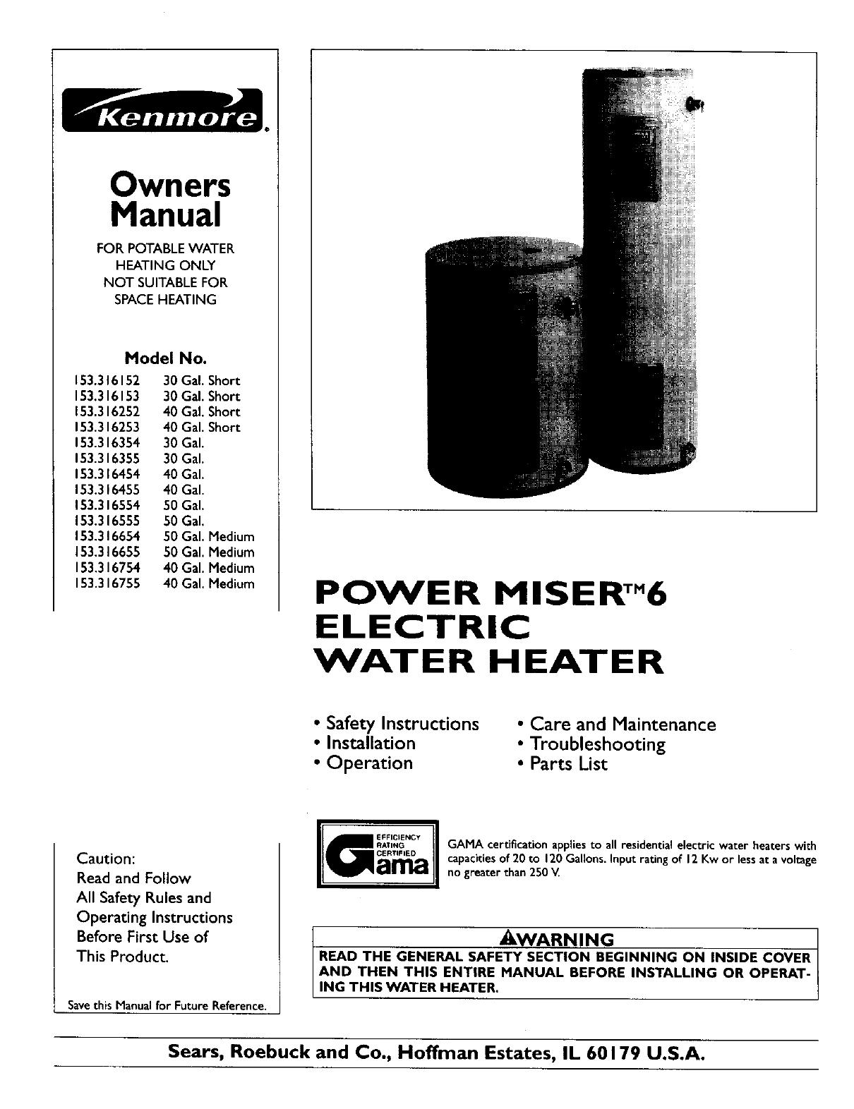 VK_8831] Sears Water Heater Wiring Diagram Wiring DiagramAlypt Onica Xero Mohammedshrine Librar Wiring 101
