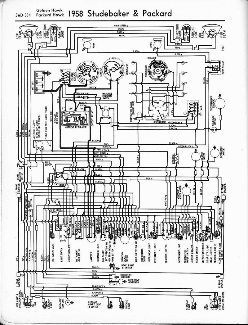 Ka 2863 1949 Packard Wiring Diagram Free Diagram