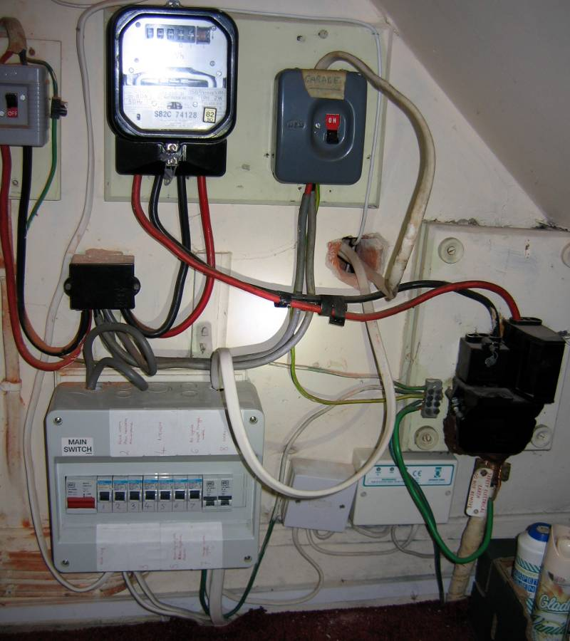 Ke 2478 Wiring Diagram For Rcd Garage Consumer Unit Schematic Wiring