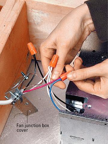Rh 6739 Wiring A Broan Bathroom Heater Fan Light
