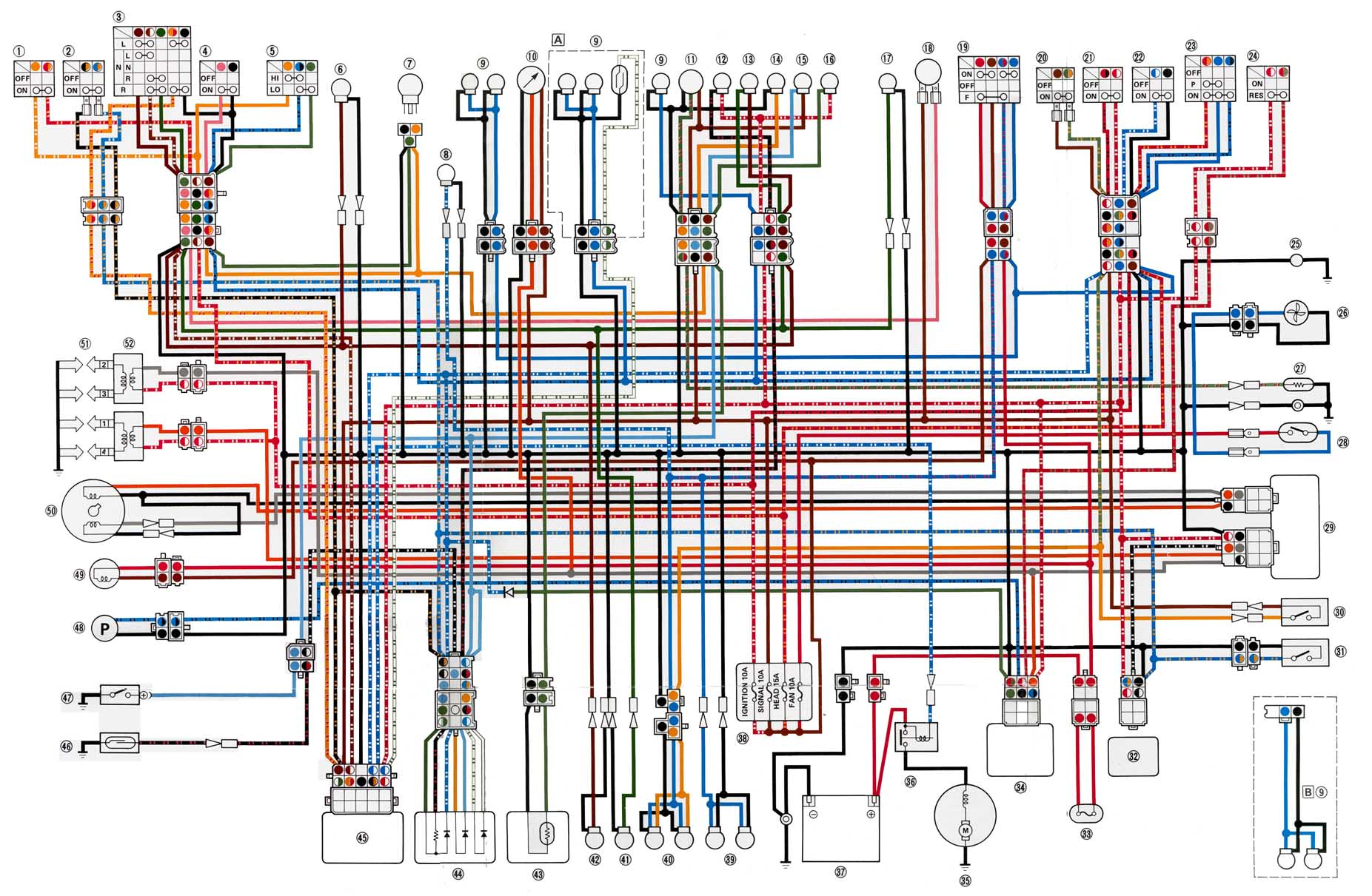 Wiring Diagram For Yamaha Fzr 600