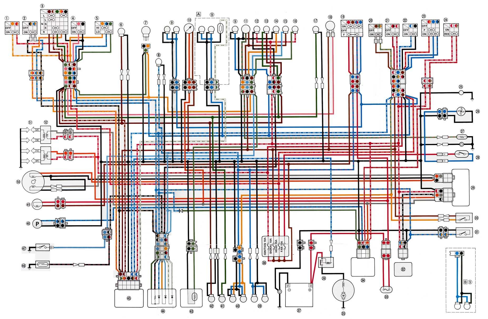 Diagram Yamaha Fzr Wiring Full