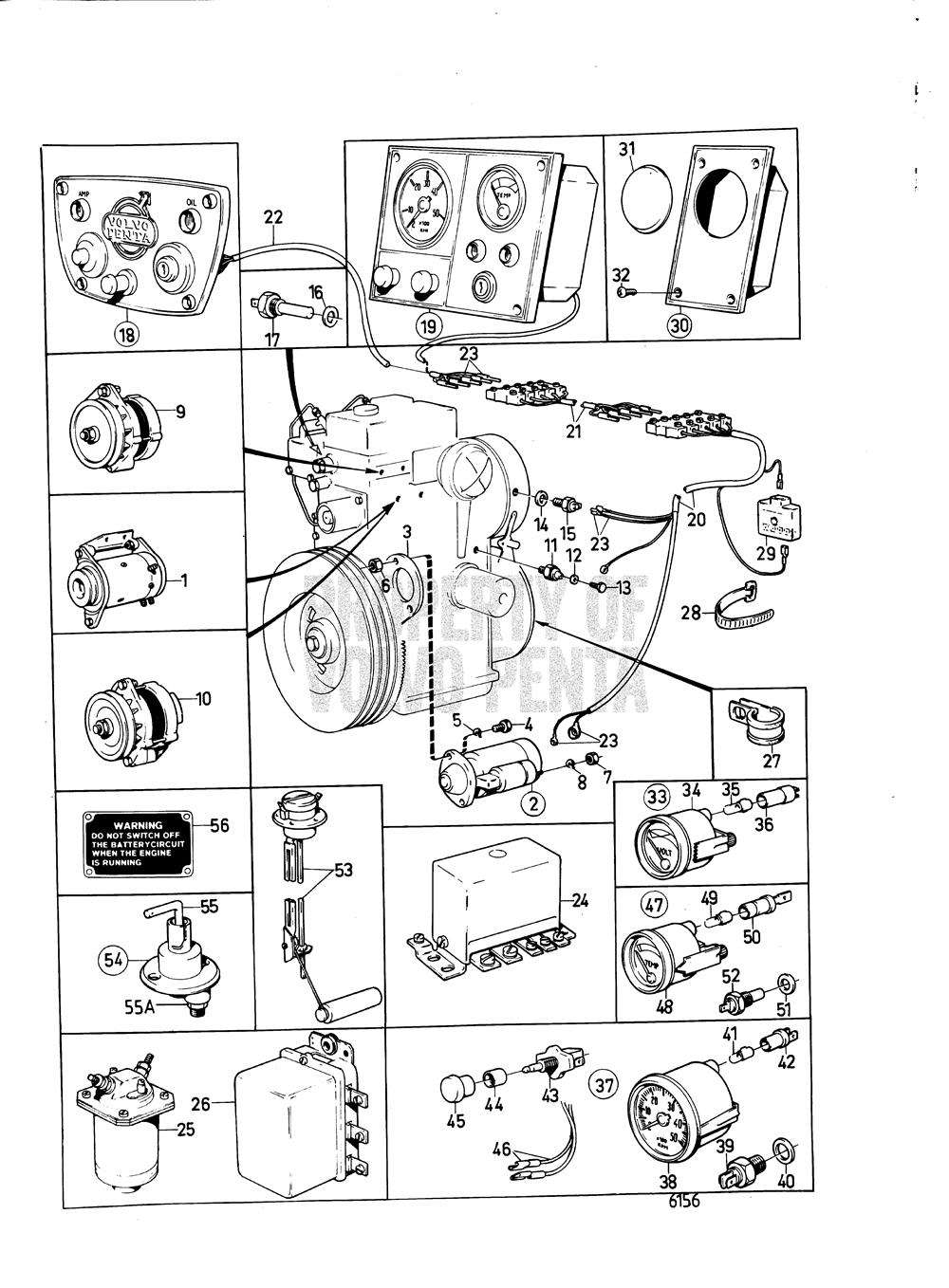 Astounding Volvo Penta Exploded View Schematic Electrical System And Wiring Cloud Cranvenetmohammedshrineorg