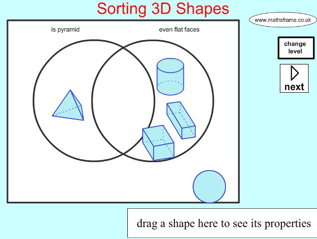 Superb Sorting 3D Shapes On A Venn Diagram Shape Space 3D Objects Wiring Cloud Lukepaidewilluminateatxorg