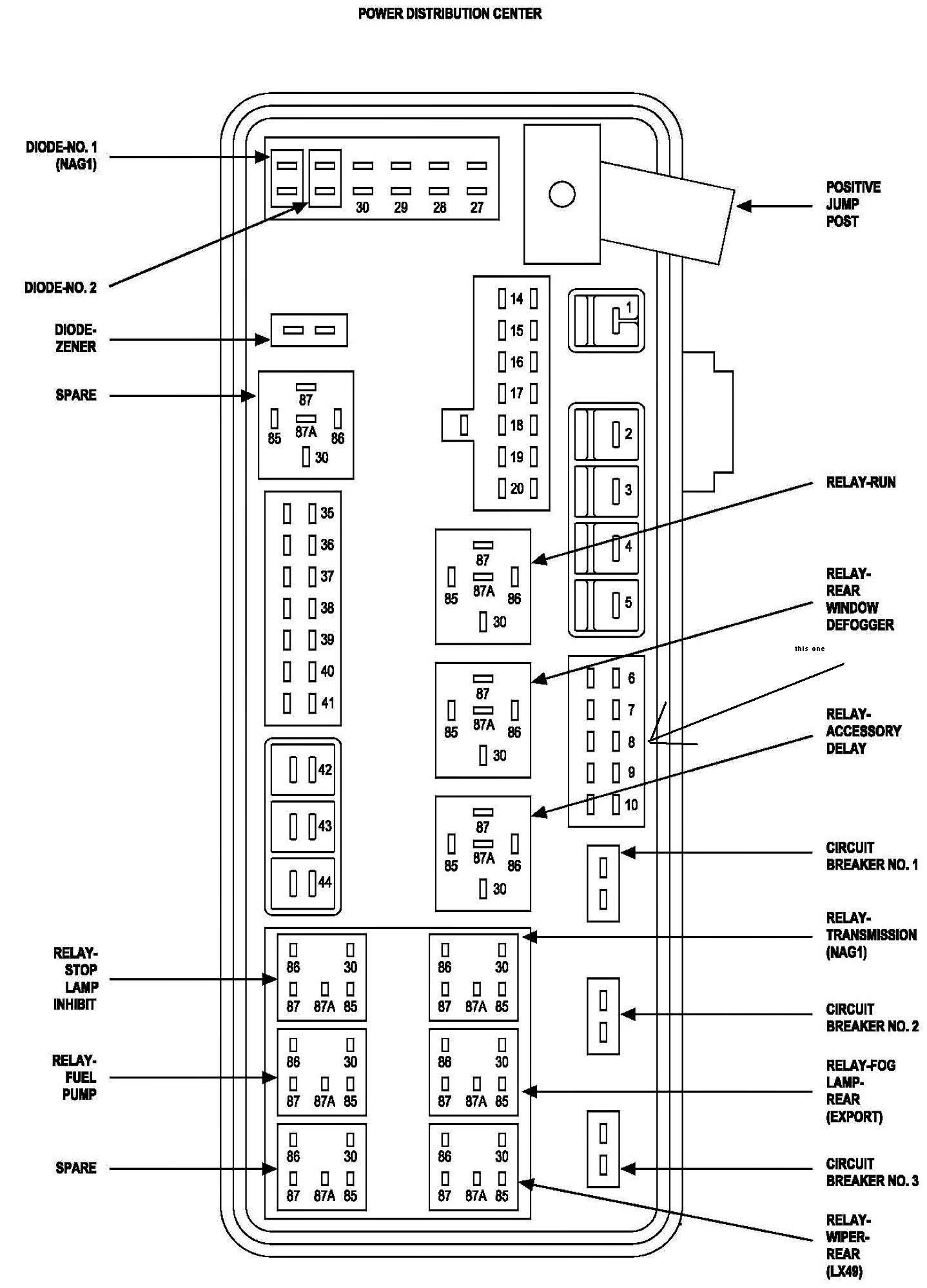 Terrific 1989 Dodge Ram Fuse Box Wiring Diagram Wiring Cloud Timewinrebemohammedshrineorg