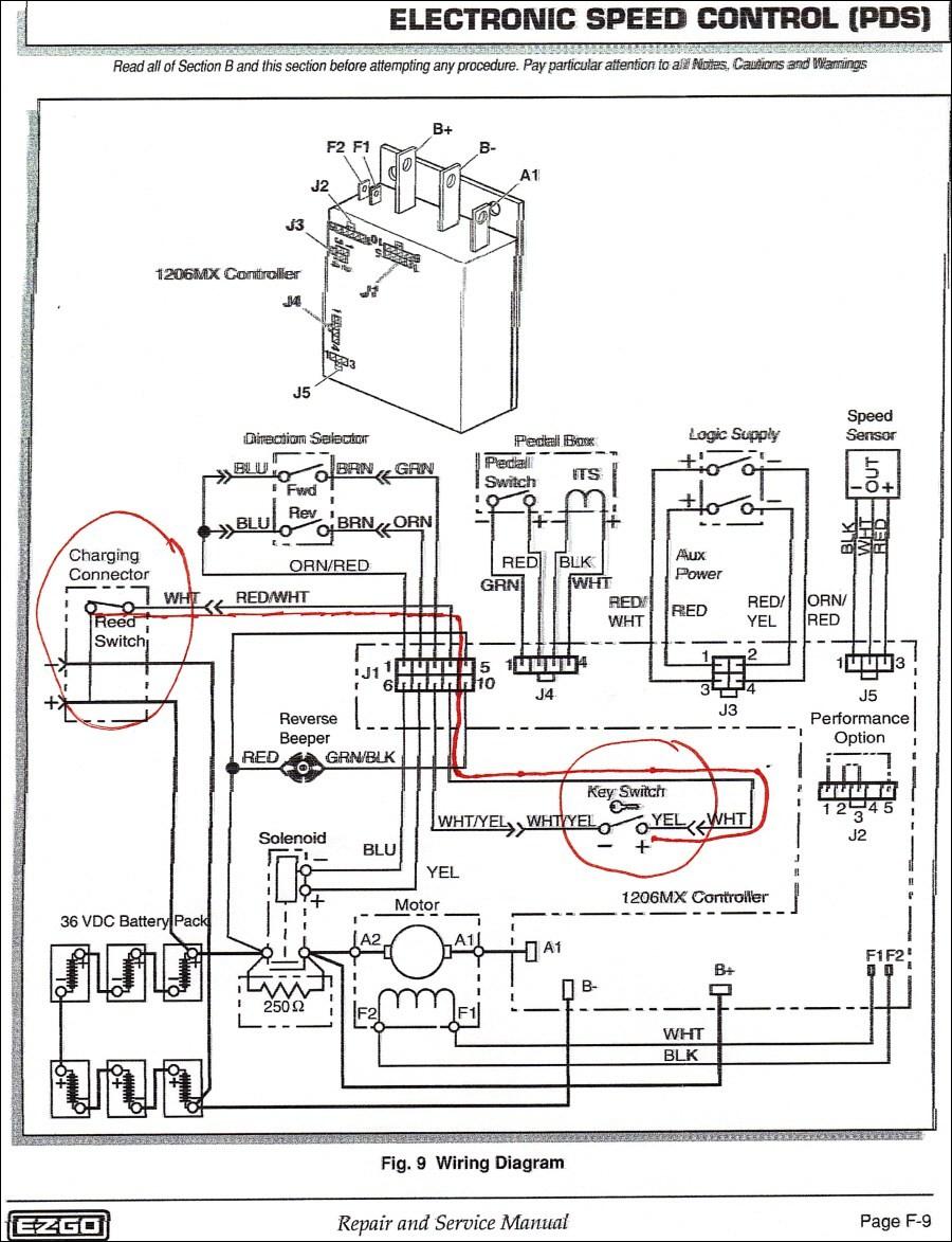 Te 1849 Golf Cart Wiring Diagram Also Ezgo Txt Wiring Diagram Also Ezgo Golf Schematic Wiring