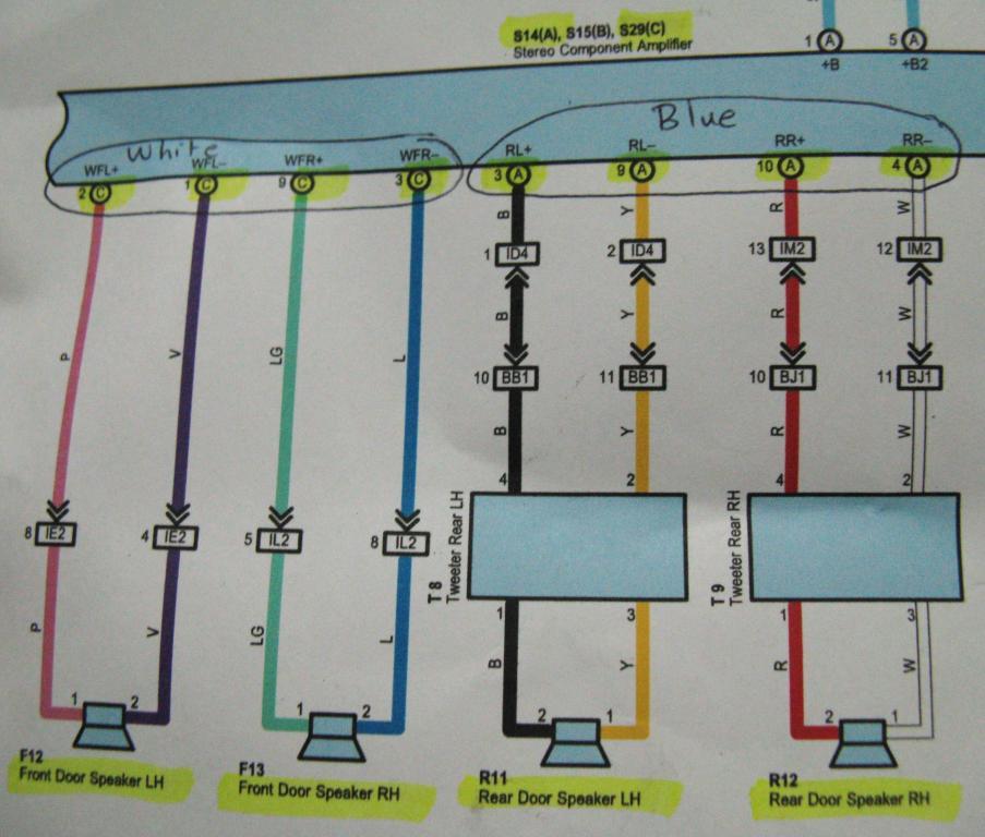 Prius Jbl Wiring Diagram - Wiring Diagram
