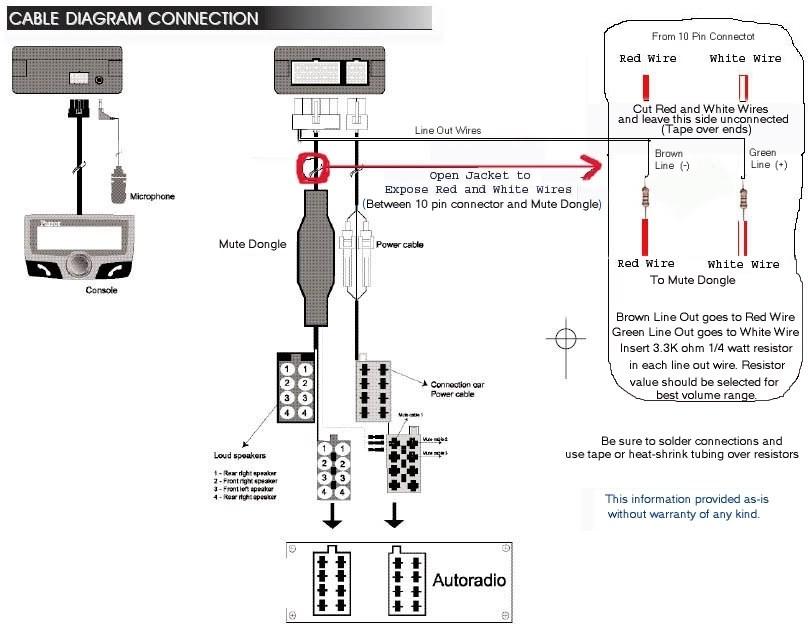 parrot ck3000wiring diagram  1991 ford probe radio wiring