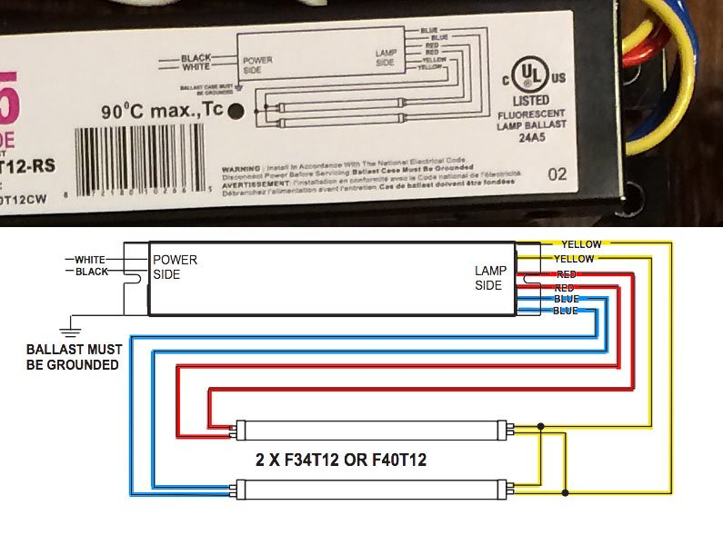 Zb 8539 Philips Centium Ballast Wiring Diagram Schematic Wiring